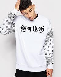 asos brand oversized sweatshirt with snoop dogg print where to
