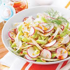 comment cuisiner le fenouil salade rafraîchissante au fenouil et radis recettes cuisine et