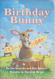 make your own birthday bunny