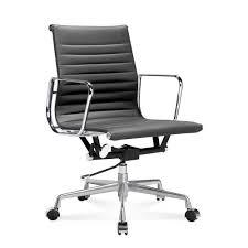 Esszimmerst Le Mit Leder Ea 117 Eames Bürostuhl Halbhoher Office Chair Mit Geripptem Le
