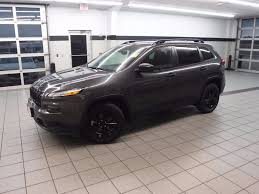jeep cherokee grey 2017 2017 used jeep cherokee altitude fwd at landers alfa romeo fiat