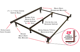 Metal Bed Frame Support Heavy Duty Metal Bed Frame Universal Size