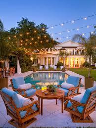 patio lighting string lights globe lights backyard ideas