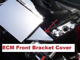 corvette stainless creations corvette c4 1990 1993 stainless ecm bracket cover