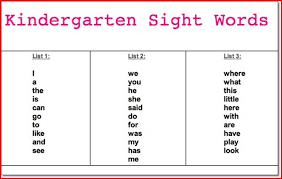 kindergarten spelling words worksheets worksheets