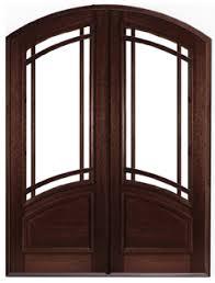 9 light door window replacement solid mahogany archtop entry doors round top front doors new