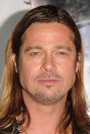 brad pitts haircut in seven top 10 celebrity beards brad pitt george clooney zac efron