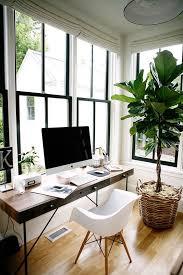bureau lumineux les fenêtres au centre de la déco pour un bureau lumineux déco