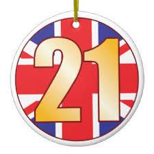 happy 21st birthday ornaments zazzle ca