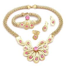 2014 coral jewelry sets bridal dubai gold jewelry