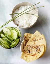 cuisine cor馥nne recettes crêpes coréennes pour 6 personnes recettes à table