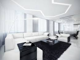 Living Room With White Furniture Wonderful Black And White Furniture Living Room Home Decor