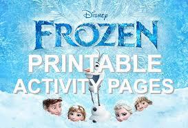 disney u0027s frozen movie printable coloring pages activity sheets