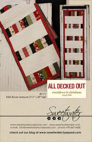 sweetwater countdown to christmas fabric and pattern sewing