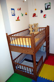 Bed Rails For Bunk Beds Small Bunk Bed In Oak I Like The Ladder In The Front And Also