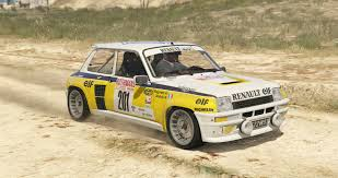 renault rally 2016 renault 5 turbo add on replace tuning livery gta5 mods com