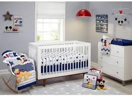disney princess crib bedding mickey sports nursery mouse red for