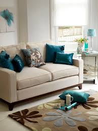 Plain Grey And Teal Living Room In Design - Teal living room decorating ideas