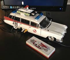 ecto 1 for sale there s a working nintendo inside this ecto 1 geektyrant