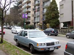 chrysler lebaron old parked cars vancouver 1985 chrysler lebaron