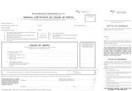 uk death certificate template blank death certificates templates