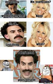 Borat Not Meme - troll borat by kognak meme center