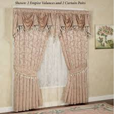 chantilly rose window treatments
