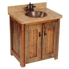 Barnwood Bathroom Vanity Wyoming Barnwood Bathroom Vanity