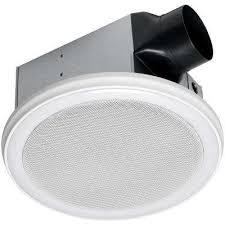 hunter 83002 ventilation sona bathroom exhaust fan with light round bath fans bathroom exhaust fans the home depot