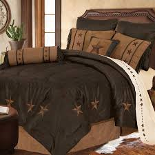 Camouflage Comforter Laredo Luxury Embroidered Star Comforter Set 3 Colors Avail