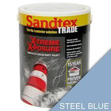 sandtex trade x treme x posure exterior smooth masonry paint steel