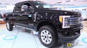 Ford F250 Concept Truck - 2017 ford f250 super duty platinum exterior interior walkaround