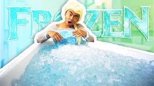Challenge Bathtub Guava Juice Bath Challenge Today I Become Elsa And