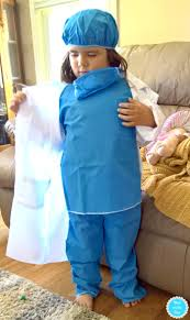 Halloween Lab Coat Costume Halloween Costumes Kids Dress