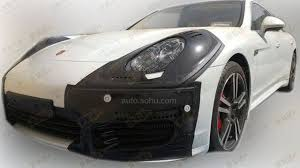 Porsche Panamera Facelift - 2014 porsche panamera interior spied long wheelbase version likely
