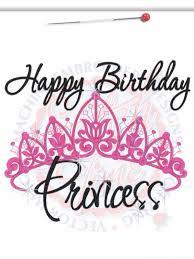 Birthday Princess Meme - happy birthday princess crown machine embroidered by rockinthetutu