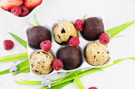 cookie dough easter eggs vegan raw paleo gluten dairy sugar