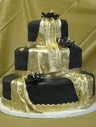 gold n black cake cakes n cupcakes and other treats