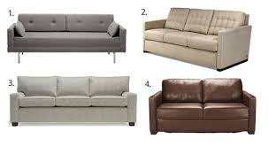 Best Sofa Sleeper Chic Cool Sleeper Sofa Let39s Compare Best 5 Sleeper Sofas Of 2016