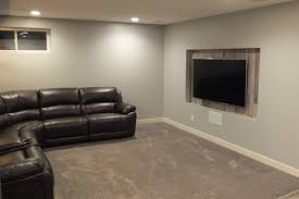 ravenswood airdrie basement development evolve basements inc