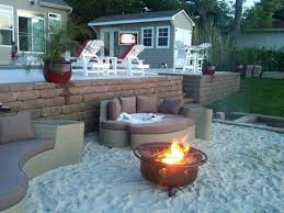 Best 25 Pebble Patio Ideas On Pinterest Landscaping Around by Best 25 Backyard Beach Ideas On Pinterest Beach Style Fire Pits