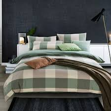 Twin Plaid Bedding by Plaid Comforter Promotion Shop For Promotional Plaid Comforter On