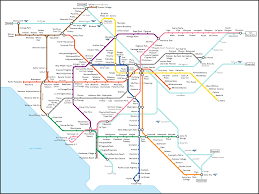 Chicago Elevated Train Map by Los Angeles Metro Map Metro Maps Pinterest Los Angeles