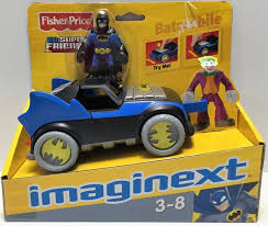 imaginext batmobile with lights tas033587 2008 mattel fisher price dc super friends imaginext