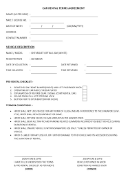 car deposit agreement best resumes curiculum vitae and cover letter
