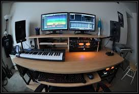 Recording Studio Desks Modern Recording Studio Desk For Home Design Also Bedroom