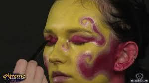 fire makeup how to fire queen halloween makeup tutorial youtube
