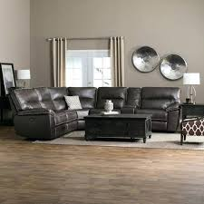 Grey Leather Reclining Sofa by San Diego Coffee Leather Sectional Recliner Black Leather