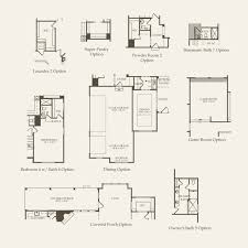 Barrington Floor Plan by Skyview At Legacy Of Barrington In Barrington Illinois Pulte