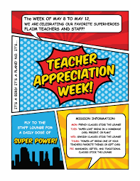 super teacher appreciation week u2014 baton rouge foreign language